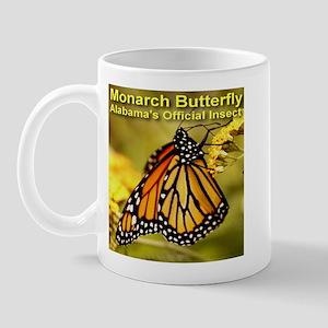 Monarch Butterfly Alabama Sta Mug