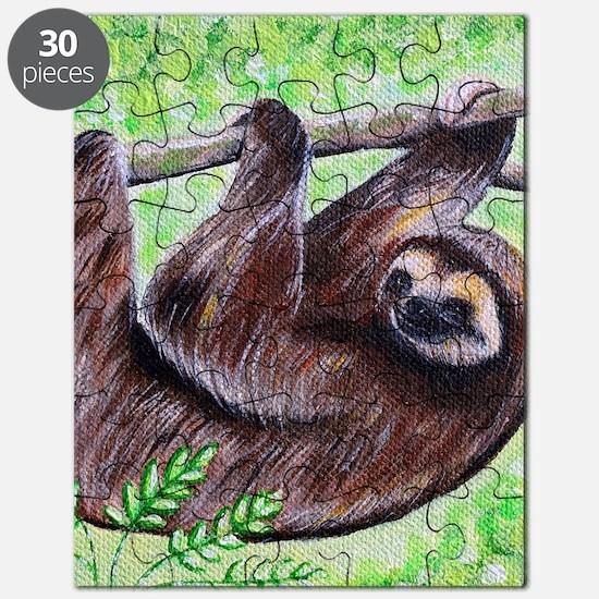 Funny Animals sloth Puzzle