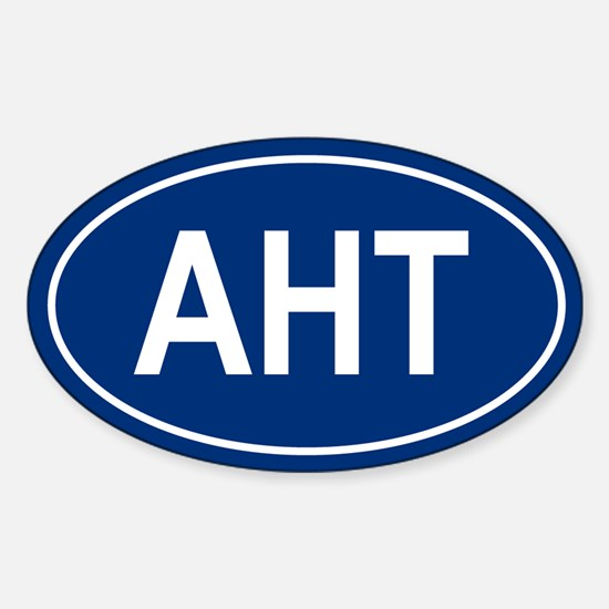AHT Oval Decal