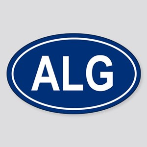 ALG Oval Sticker
