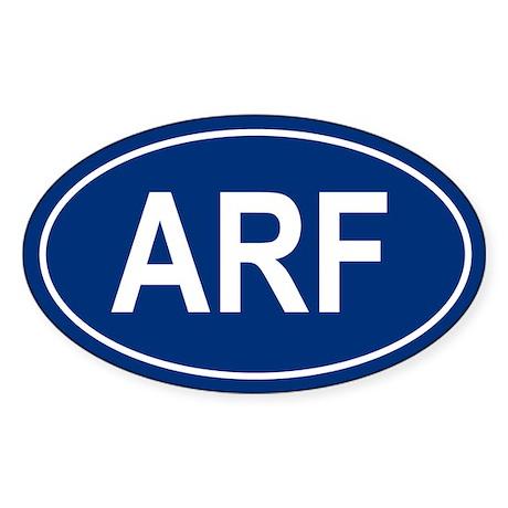 ARF Oval Sticker