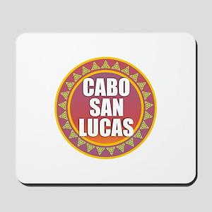 Cabo San Lucas Sun Heart Mousepad