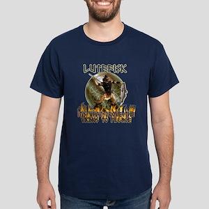 Anti Lutefisk humor Dark T-Shirt