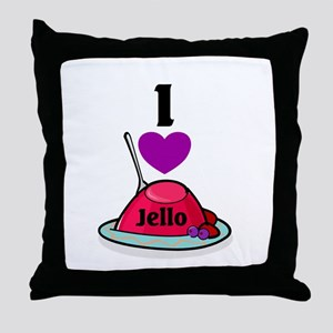 Jello Throw Pillow