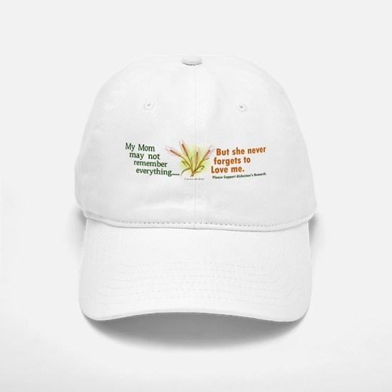 Never Forgets To Love 2 (Mom) Baseball Baseball Cap