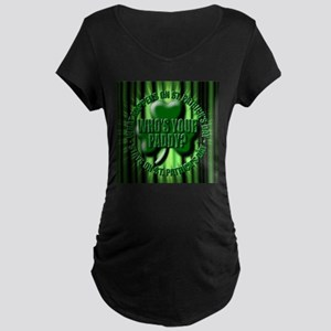 who's your paddy Maternity Dark T-Shirt