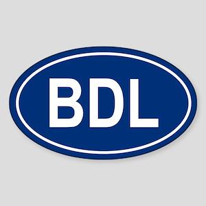 BDL Oval Sticker