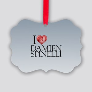 I Heart Damien Spinelli Picture Ornament