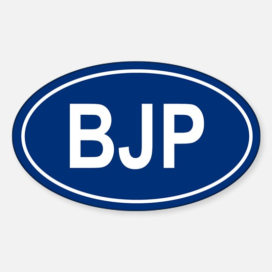BJP Oval Decal