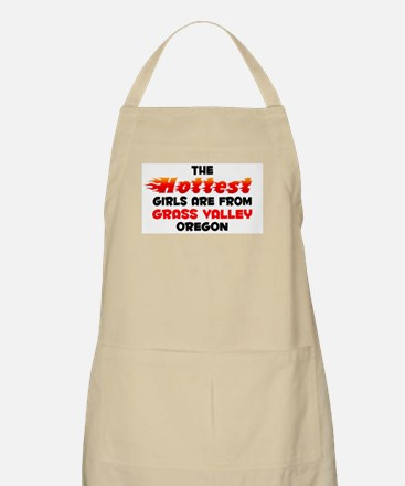 Hot Girls: Grass Valley, OR BBQ Apron