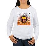BHC FLAMED Women's Long Sleeve T-Shirt