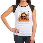 BHC FLAMED Women's Cap Sleeve T-Shirt