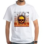 BHC FLAMED White T-Shirt