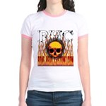 BHC FLAMED Jr. Ringer T-Shirt