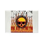 BHC FLAMED Rectangle Magnet (10 pack)
