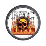 BHC FLAMED Wall Clock