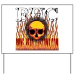 BHC FLAMED Yard Sign