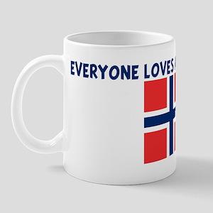 EVERYONE LOVES A NORWEGIAN GI Mug