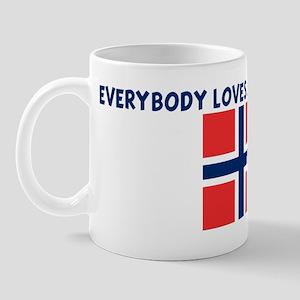 EVERYBODY LOVES A NORWEGIAN G Mug