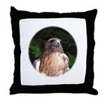 Redtailed Hawk Throw Pillow