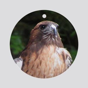 Redtailed Hawk Ornament (Round)
