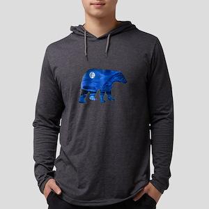 MIDNIGHT BEAR Long Sleeve T-Shirt