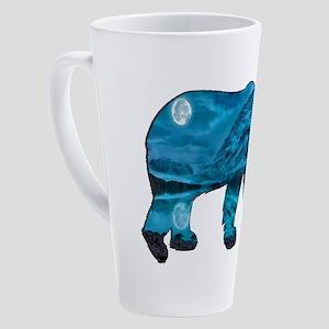 POLAR NIGHT 17 oz Latte Mug