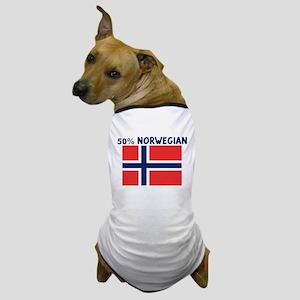 50 PERCENT NORWEGIAN Dog T-Shirt