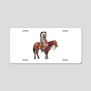 STRONG IMPRESSION Aluminum License Plate