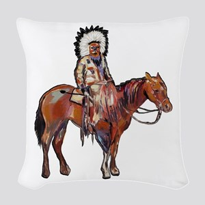 STRONG IMPRESSION Woven Throw Pillow