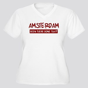 Amsterdam (been there) Women's Plus Size V-Neck T-