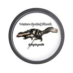 Western Spotted Skunk Wall Clock