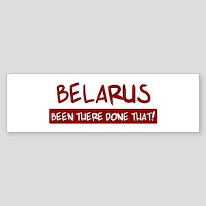 Belarus (been there) Bumper Sticker