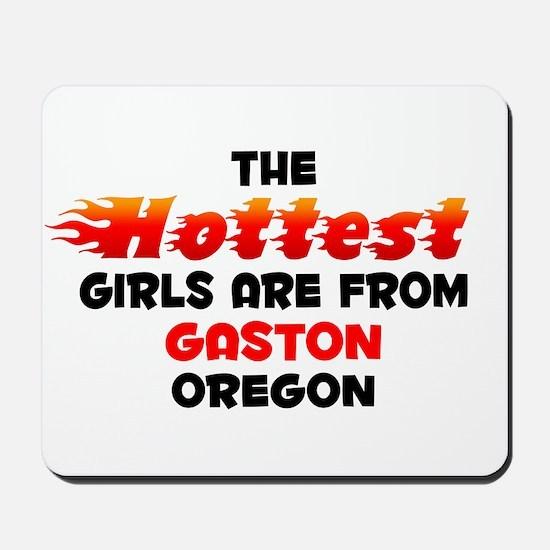 Hot Girls: Gaston, OR Mousepad