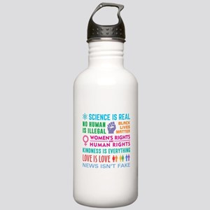 Anti-Trump Resist Water Bottle