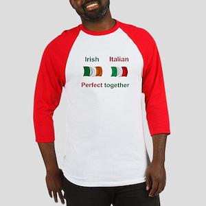 Italian Irish Together Baseball Jersey
