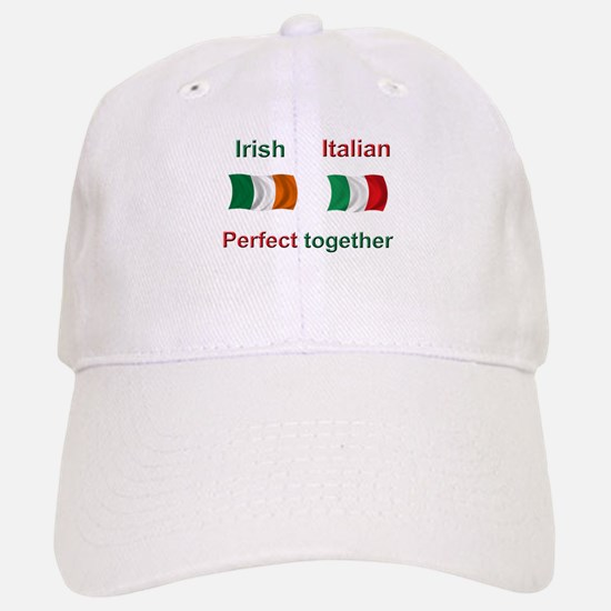 Italian Irish Together Baseball Baseball Cap