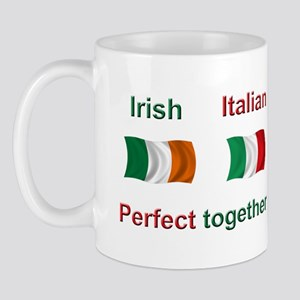 Italian Irish Together Mug