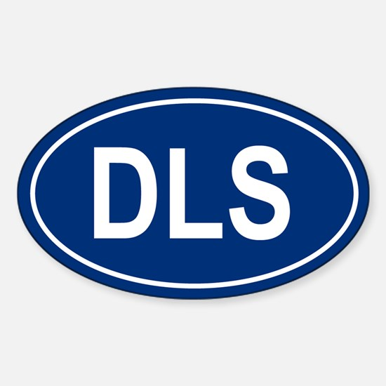 DLS Oval Decal