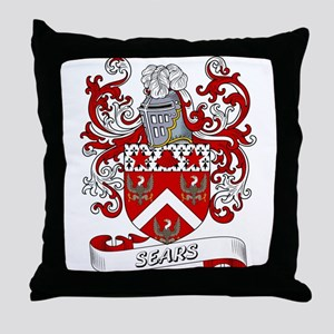 Sears Coat of Arms Throw Pillow
