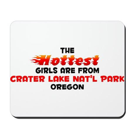 Hot Girls: Crater Lake , OR Mousepad