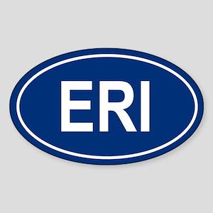 ERI Oval Sticker