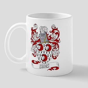 Sims Coat of Arms Mug