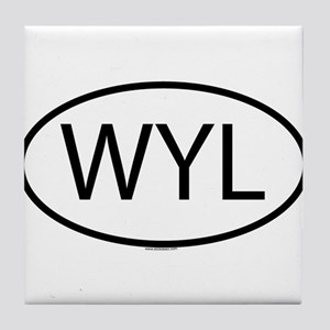 WYL Tile Coaster