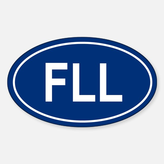 FLL Oval Decal