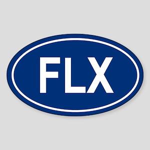 FLX Oval Sticker
