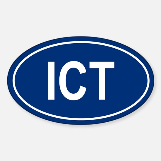 ICT Oval Decal