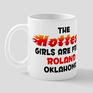 Hot Girls: Roland, OK Mug