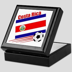 Costa Rica Soccer Team Keepsake Box