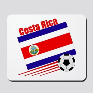 Costa Rica Soccer Team Mousepad